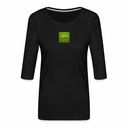 Raksos Logo - Dame Premium shirt med 3/4-ærmer