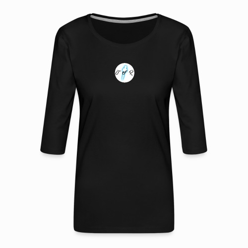 The Scots Review TSR Logo - Women's Premium 3/4-Sleeve T-Shirt