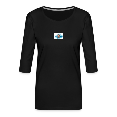 Derr Lappen - Frauen Premium 3/4-Arm Shirt