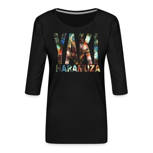 YAKI HARAMUZA BASIC HERR - Premium-T-shirt med 3/4-ärm dam