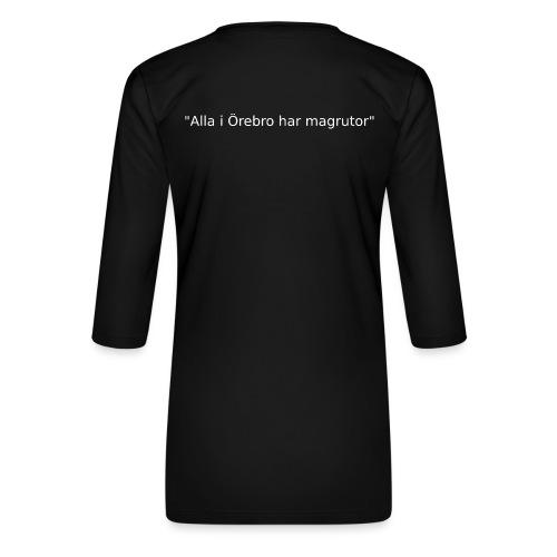 Ju jutsu förslag 2 version 1 vit text - Premium-T-shirt med 3/4-ärm dam