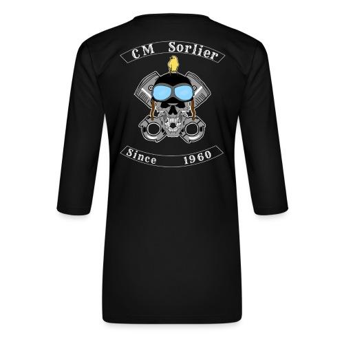 Club moto - T-shirt Premium manches 3/4 Femme