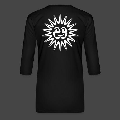 23 sole - Maglietta da donna premium con manica a 3/4
