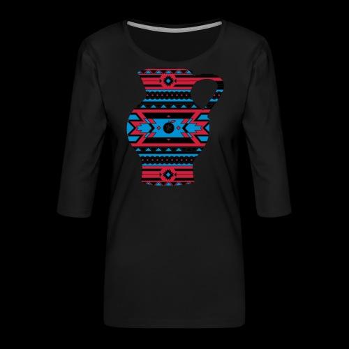 Hessen Natives Herren - Frauen Premium 3/4-Arm Shirt