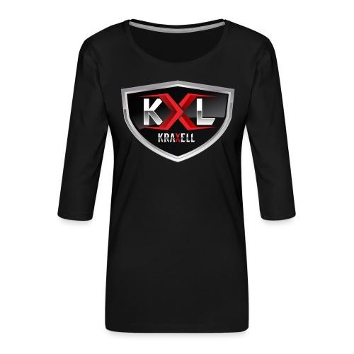 Kraxell - Frauen Premium 3/4-Arm Shirt