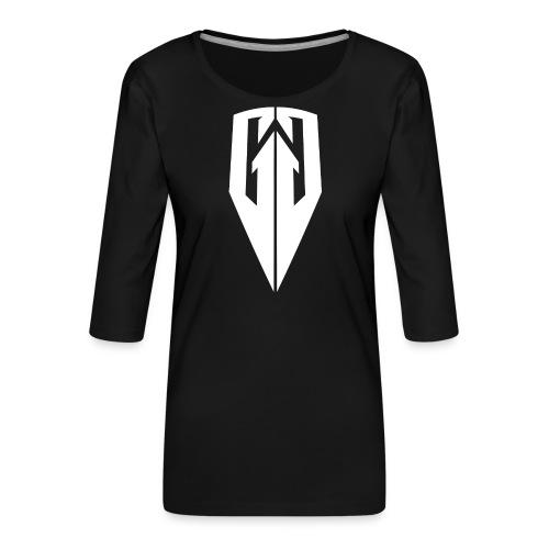 Kingdom Customs Shop Tee Womens - Women's Premium 3/4-Sleeve T-Shirt