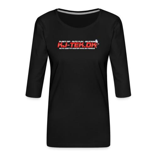 shirtlogo png - Dame Premium shirt med 3/4-ærmer