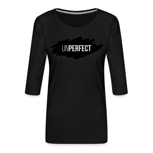 UNPERFECT LOGO 2 - Frauen Premium 3/4-Arm Shirt