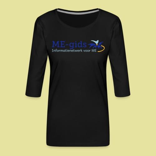logomegids - Vrouwen premium shirt 3/4-mouw