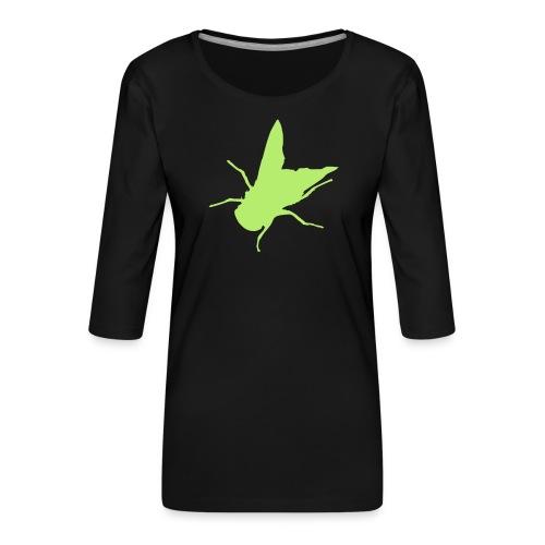 fliege - Frauen Premium 3/4-Arm Shirt