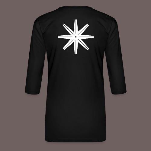 GBIGBO zjebeezjeboo - Rock - Octastar Blanc - T-shirt Premium manches 3/4 Femme