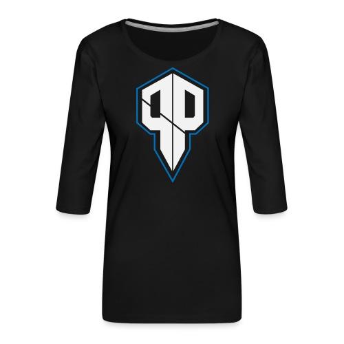 Pureness.one ESPORT LOGO - Frauen Premium 3/4-Arm Shirt