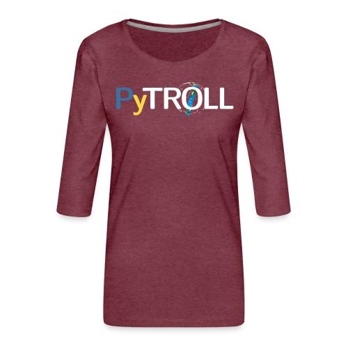 pytröll - Women's Premium 3/4-Sleeve T-Shirt