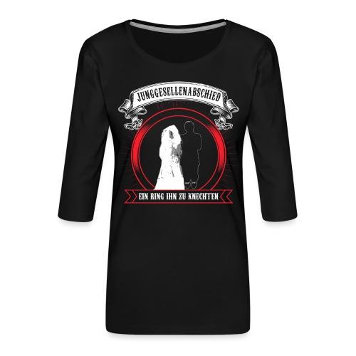 Help ME - Frauen Premium 3/4-Arm Shirt