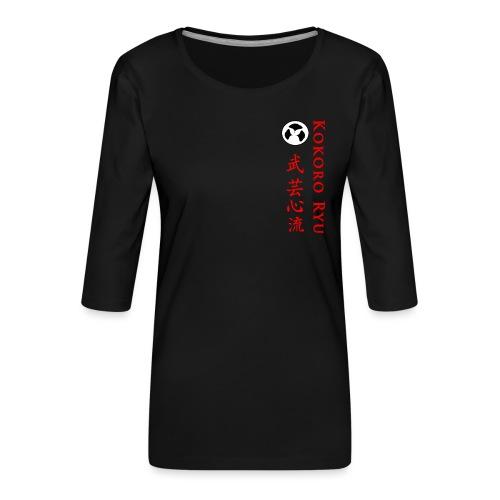 KOKORO RYU - T-shirt Premium manches 3/4 Femme