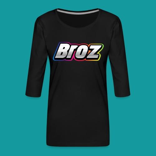 Broz - Vrouwen premium shirt 3/4-mouw