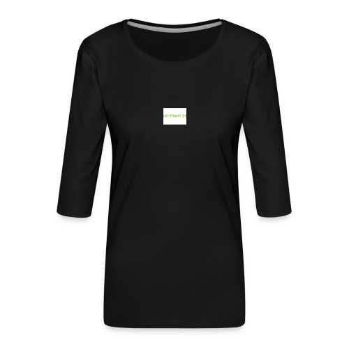deathnumtv - Women's Premium 3/4-Sleeve T-Shirt