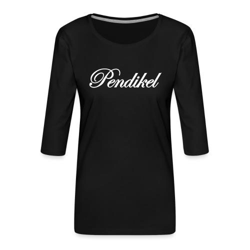 Pendikel Schriftzug (offiziell) Buttons & - Frauen Premium 3/4-Arm Shirt