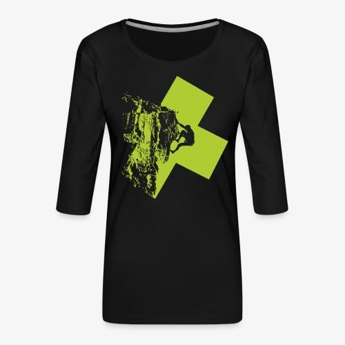 Escalando - Women's Premium 3/4-Sleeve T-Shirt