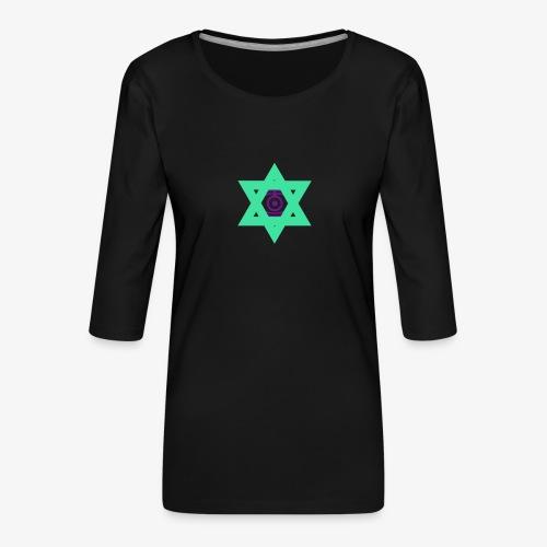 Star eye - Women's Premium 3/4-Sleeve T-Shirt