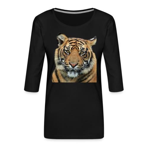 tiger 714380 - Maglietta da donna premium con manica a 3/4