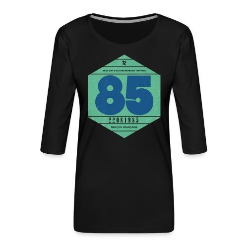 Vignette automobile 1985 - T-shirt Premium manches 3/4 Femme