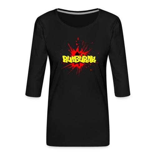 Rumburak - Frauen Premium 3/4-Arm Shirt