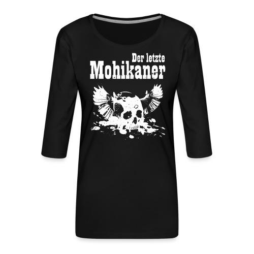 Der letzte Mohikaner - Frauen Premium 3/4-Arm Shirt