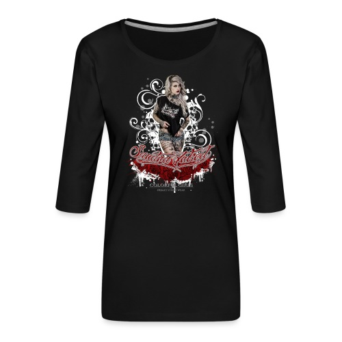 Sandra 1 - Frauen Premium 3/4-Arm Shirt