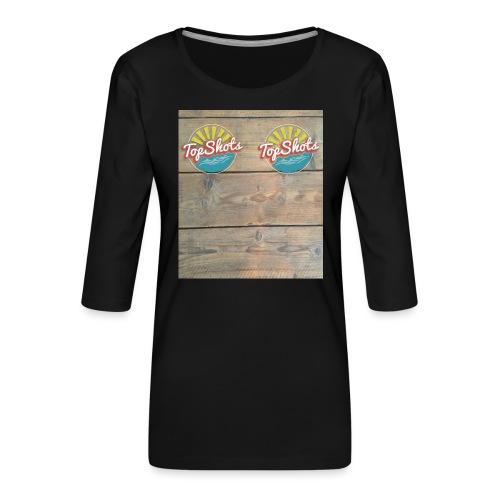 TenSlippers - Vrouwen premium shirt 3/4-mouw