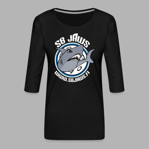 SB JAWS - Naisten premium 3/4-hihainen paita