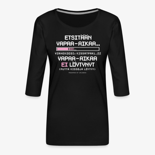 Ei Vapaa-aikaa - Kissat - Naisten premium 3/4-hihainen paita