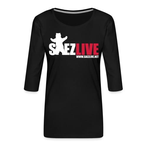 OursLive (version light) - T-shirt Premium manches 3/4 Femme