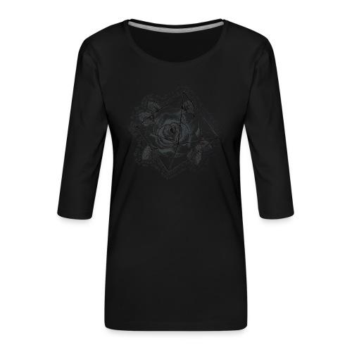 Rosamunda - Premium-T-shirt med 3/4-ärm dam