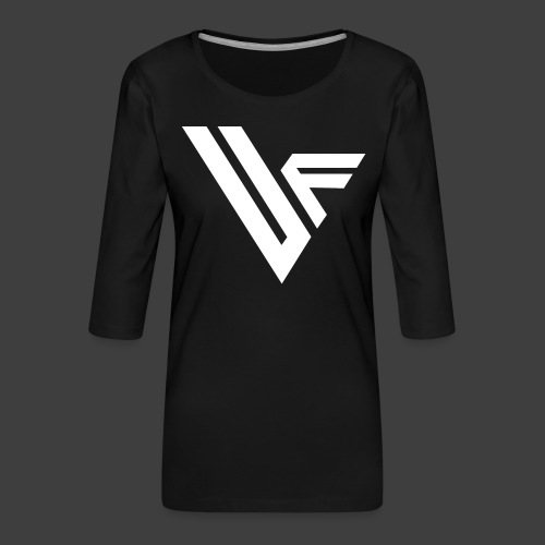 United Front Alternative Logo collection - Naisten premium 3/4-hihainen paita