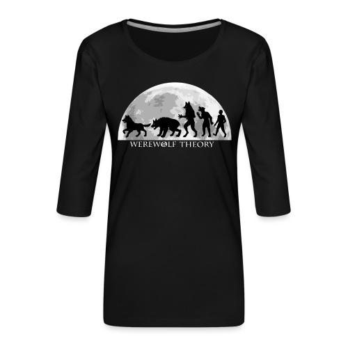 Werewolf Theory: The Change - Women's Premium 3/4-Sleeve T-Shirt