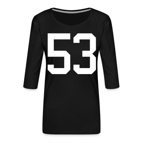 53 VOIT Christoph - Frauen Premium 3/4-Arm Shirt