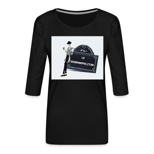 Sac Le Germanopolitan - T-shirt Premium manches 3/4 Femme