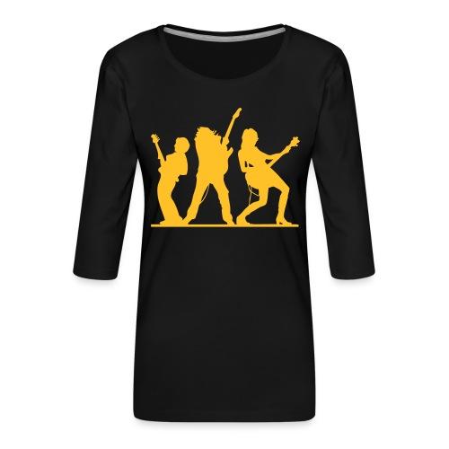 bass & gitarre - Frauen Premium 3/4-Arm Shirt