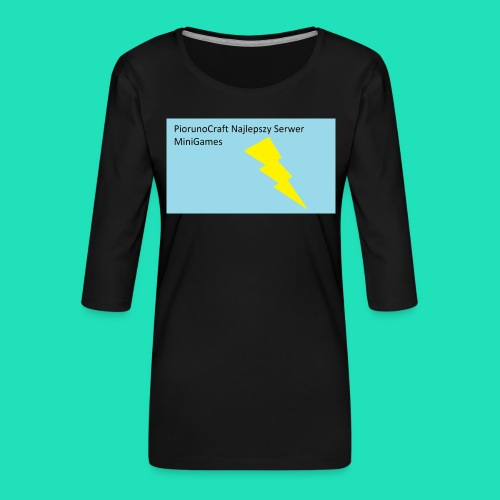 Etui Piorunowe Na Telefon 6s - Koszulka damska Premium z rękawem 3/4