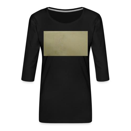 1511416685704631737378Marble t-shirt - Naisten premium 3/4-hihainen paita