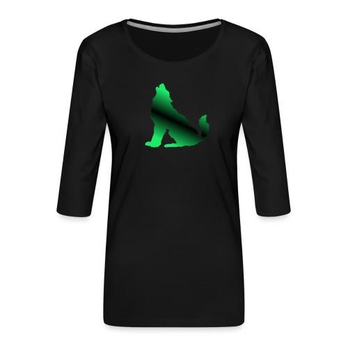 Howler - Women's Premium 3/4-Sleeve T-Shirt