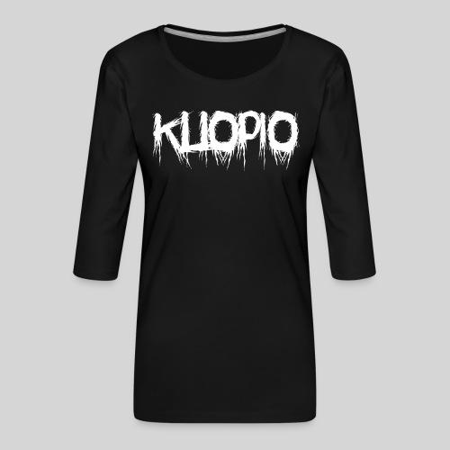 Kuopio - Naisten premium 3/4-hihainen paita