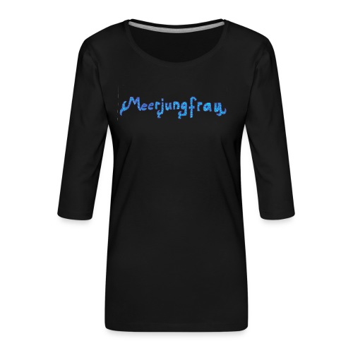meerjungfrau - Frauen Premium 3/4-Arm Shirt