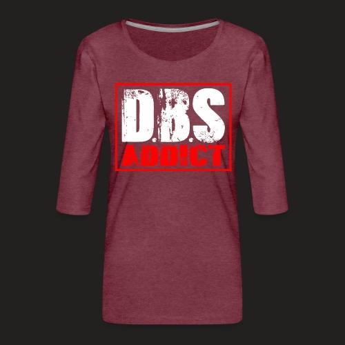 dbs.png - Women's Premium 3/4-Sleeve T-Shirt
