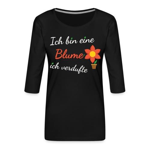 Blume Garten Gärtner Florist Shirt Geschenk - Frauen Premium 3/4-Arm Shirt
