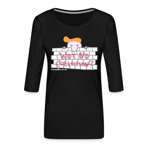 Trump's Wall - Women's Premium 3/4-Sleeve T-Shirt