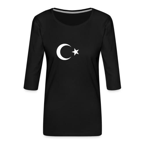 Turquie - T-shirt Premium manches 3/4 Femme