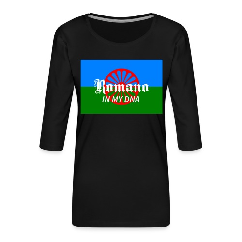 flaglennyinmydna - Premium-T-shirt med 3/4-ärm dam
