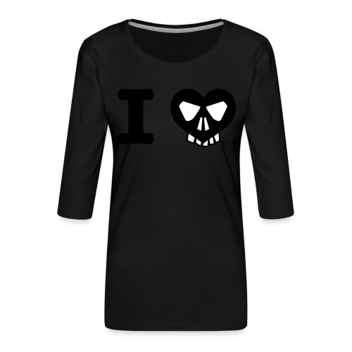 I Love... - Frauen Premium 3/4-Arm Shirt